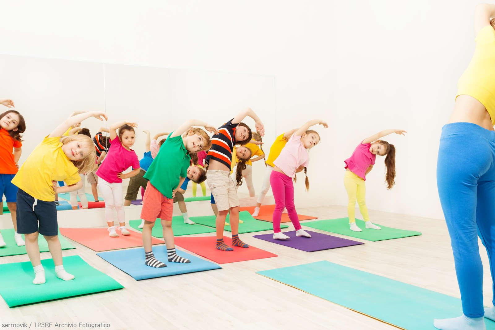 Corso di Yoga Bimbi